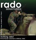 Rado Miniatures[RDM35014]1/35 敵機襲来!SS戦車兵 w/MG34 ノルマンディ1944