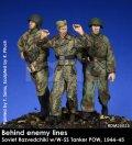 Rado Miniatures[RDM35025]1/35 WWII ロシア/ソ連 ドイツ軍陣地からドイツ戦車兵を連行するロシア赤軍偵察兵 1944-45(3体セット)
