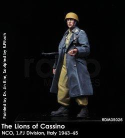 画像1: Rado Miniatures[RDM35026]1/35 WWII 独 カッシーノのライオン(1) 1'FJ(第1降下猟兵師団)下士官 イタリア 1943-45