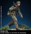 Rado Miniatures[RDM35032]1/35 WWII 独 ドイツ武装親衛隊MG射撃手 第12SS装甲師団「ヒトラーユーゲント」ノルマンディー1944