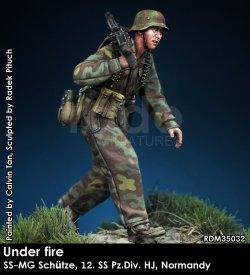 画像1: Rado Miniatures[RDM35032]1/35 WWII 独 ドイツ武装親衛隊MG射撃手 第12SS装甲師団「ヒトラーユーゲント」ノルマンディー1944