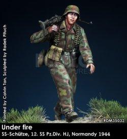画像4: Rado Miniatures[RDM35032]1/35 WWII 独 ドイツ武装親衛隊MG射撃手 第12SS装甲師団「ヒトラーユーゲント」ノルマンディー1944