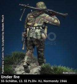 画像5: Rado Miniatures[RDM35032]1/35 WWII 独 ドイツ武装親衛隊MG射撃手 第12SS装甲師団「ヒトラーユーゲント」ノルマンディー1944