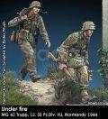Rado Miniatures[RDM35034]1/35 WWII 独 ドイツ武装の親衛隊MG射撃チーム 第12SS装甲師団「ヒトラーユーゲント」ノルマンディー1944