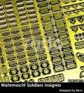 Rado Miniatures[RDM35PE02]1/35 WWII 独 ドイツ空軍兵士記章エッチングパーツセット