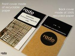 画像2: Rado Miniatures[RDM35PE05]1/35 WWII 露/ソ ロシア赤軍兵士記章エッチングパーツセット