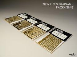 画像3: Rado Miniatures[RDM35PE05]1/35 WWII 露/ソ ロシア赤軍兵士記章エッチングパーツセット