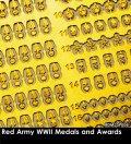 Rado Miniatures[RDM35PE06]1/35 WWII 露/ソ ロシア赤軍功績勲章&メダルエッチングパーツセット