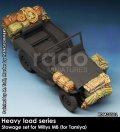 Rado Miniatures[RDM35S01]1/35 WWII 米 ウィルスMBジープ用収納カーゴセット