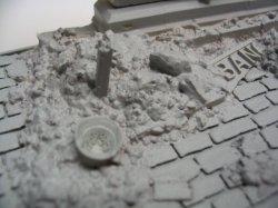 画像3: Reality in Scale[RIS35022]廃墟となったローマ建築の壁と石畳