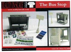 画像1: Reality in Scale[RIS35050]バス トラムの停車場
