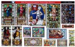 画像1: Reality in Scale[RIS35063]歴史的/共通のステンドグラス(A4版)
