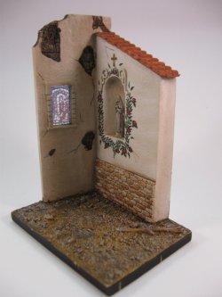 画像3: Reality in Scale[RIS35070]礼拝堂の一部 祭壇/ステンドグラス付き