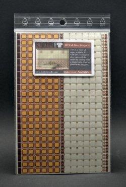 画像2: Reality in Scale[RIS35265]3D 壁のタイルセット- デザイン H