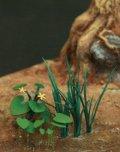 Reality in Scale[GL-057]水辺の植物セット2(リュウキンカ、ショウブ、雑草)