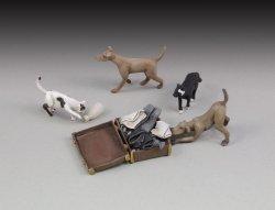 画像1: RoyalModel[RM662]1/35 犬&猫セット各2匹入り