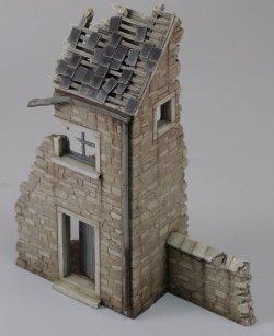 画像1: RoyalModel[RM694]1/48 破壊された家「アルデンヌ」