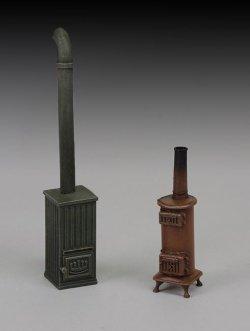 画像1: RoyalModel[RM744]1/35 WWII 古い石炭ストーブ