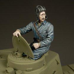 画像1: RoyalModel[RM756]1/35 露 WWII砲塔に座る戦車兵