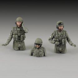 画像1: RoyalModel[RM767]1/35 IDF 戦車兵セット
