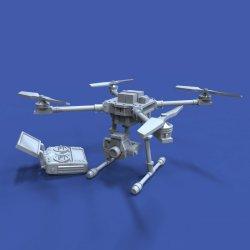 画像1: RoyalModel[RM925]1/35 現用 ドローン&遠隔操縦装置セット