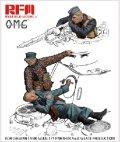 ライフィールドモデル[RMOM-35001]1/35 ドイツ戦車兵セット「銃弾に倒れた兵士」レジン製フィギュア3体入り