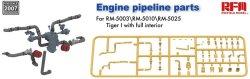 画像1: ライフィールドモデル[RFM2007]1/35 タイガー戦車用エンジン配管パーツ (RFM5003/5010/5025用)