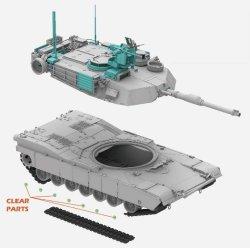 画像3: ライフィールドモデル[RFM5029]1/35 M1A2 SEP V2 エイブラムス