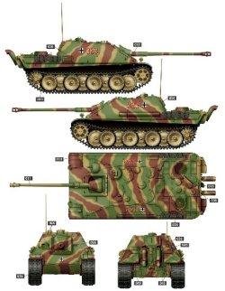 画像3: ライフィールドモデル[RFM5031]1/35 ヤークトパンター G2型ドイツ重駆逐戦車w/可動式履帯