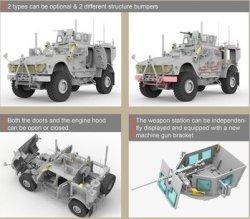 画像2: ライフィールドモデル[RFM5032]1/35 M-ATV M1240A1