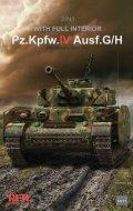ライフィールドモデル[RFM5055]1/35 IV号戦車 G/H型 w/連結組立可動式履帯  & フルインテリア (2 in 1)