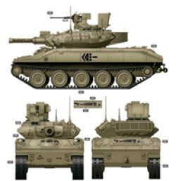 画像3: ライフィールドモデル[RM-5020]1/35 M551A1/TTS シェリダン