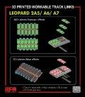 ライフィールドモデル[RFM2022]1/35 レオパルト2A5/A6/A7用 可動式 履帯セット (3Dプリンター製)