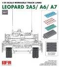 ライフィールドモデル[RFM5057]1/35 レオパルト2A5/A6/A7用  可動式履帯セット (インジェクション製)