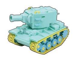 画像2: 童友社 カラフルキュートタンク[No.1] KV-2(ロシア)