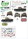 STAR DECALS[SD16-D1007]1/16 WWII ドイツI号戦車B型 ノルウェーとフランスの戦い1940