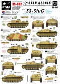 STAR DECALS[SD35-842]1/35 WWII独 武装親衛隊の突撃砲 Part.1 III突E,F,G型