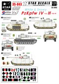 STAR DECALS[SD35-843]1/35 WWII独 冬季迷彩のIV号H型 東部戦線1943-44
