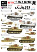 STAR DECALS[SD35-845]1/35 WWII独 第509重戦車大隊 Part.1 ティーガーI中期/後期型