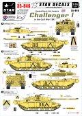 STAR DECALS[SD35-846]1/35 湾岸戦争のチャレンジャー1 クイーンズロイヤル・アイリッシュ軽騎兵隊所属