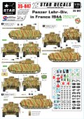 STAR DECALS[SD35-847]1/35 WWII独 装甲教導師団 フランス1944 IV号H型