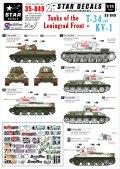 STAR DECALS[SD35-849]1/35 WWII露 レニングラード戦線のT-34とKV-1
