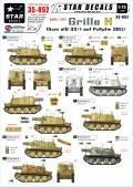 STAR DECALS[SD35-852] 1/35 WWII独 Sd.Kfz.138/1 グリレH型