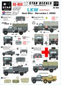 STAR DECALS[SD35-853] 1/35 WWII独 3トントラック オペルブリッツ,メルセデス3000 デカールセット