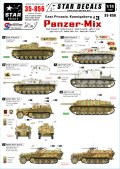 STAR DECALS[SD35-856] 1/35 WWII独 東プロイセンとケーニヒスベルク #3 IV号戦車L/70(A),IV号駆逐戦車L/48,III突,III突105mm砲搭載型, SdKfz 250, SdKfz 251 デカールセット