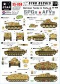 STAR DECALS[SD35-858] 1/35 WWII独 イタリア戦線#5 グリレ,IV突,III号火炎放射戦車,マーダーIIIH,Sd.kfz.250 デカールセット