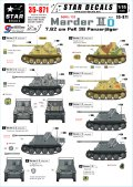 STAR DECALS[SD35-871] 1/35 WWII独 マーダーIID 7.62cm(r)対戦車自走砲 東部戦線 デカールセット