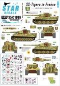 STAR DECALS[SD35-C1089]1/35 武装親衛隊のティーガー#1 SS第101重戦車第1中隊