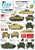 STAR DECALS[SD35-C1098]1/35 イラク戦争の英軍AFV#3 ウォリアー歩兵戦闘車