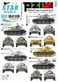 STAR DECALS[SD35-C1118]1/35 WWII独 東部戦線のIV号戦車F2(G),G型 武装親衛隊